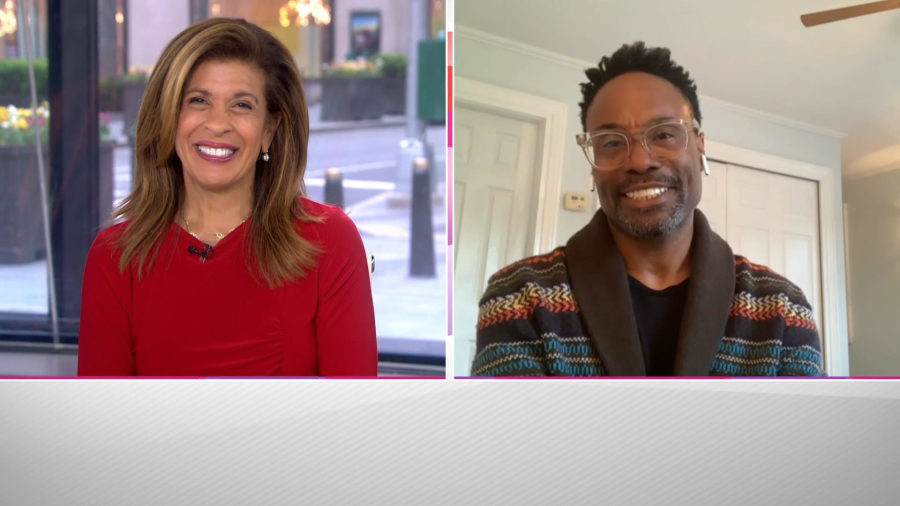 Billy Porter opens up to Hoda about finding his true self