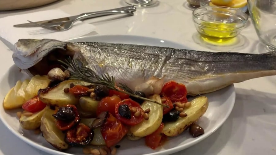 Make Stefano Secchi's pan-seared fish dinner