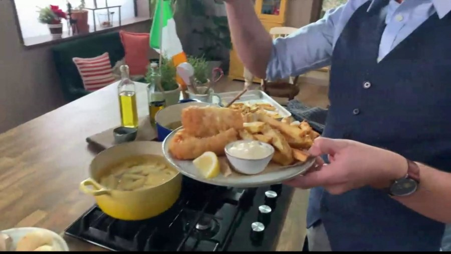 Visit Ireland without leaving home through Donal Skehan's fish and chips