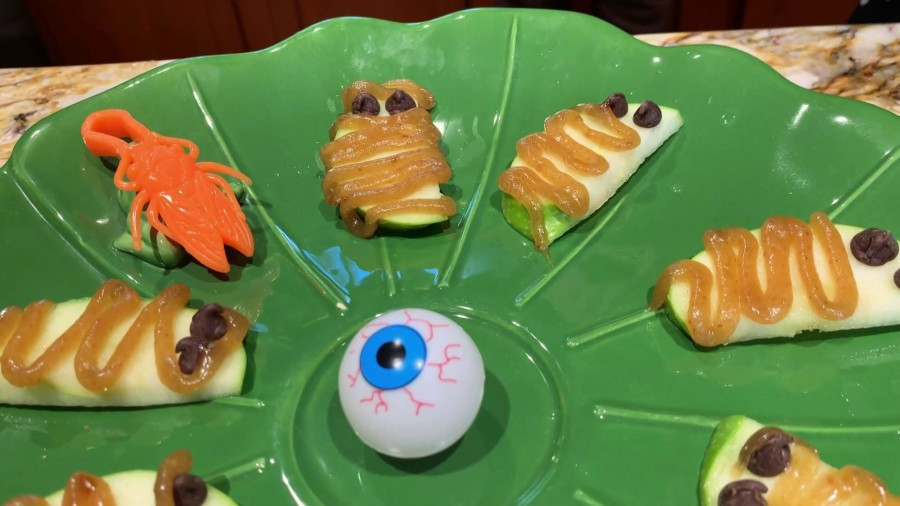 Make Joy Bauer's spooky Halloween snacks