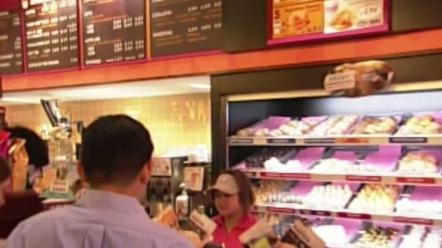 Dunkin' Brands is in talks to be sold