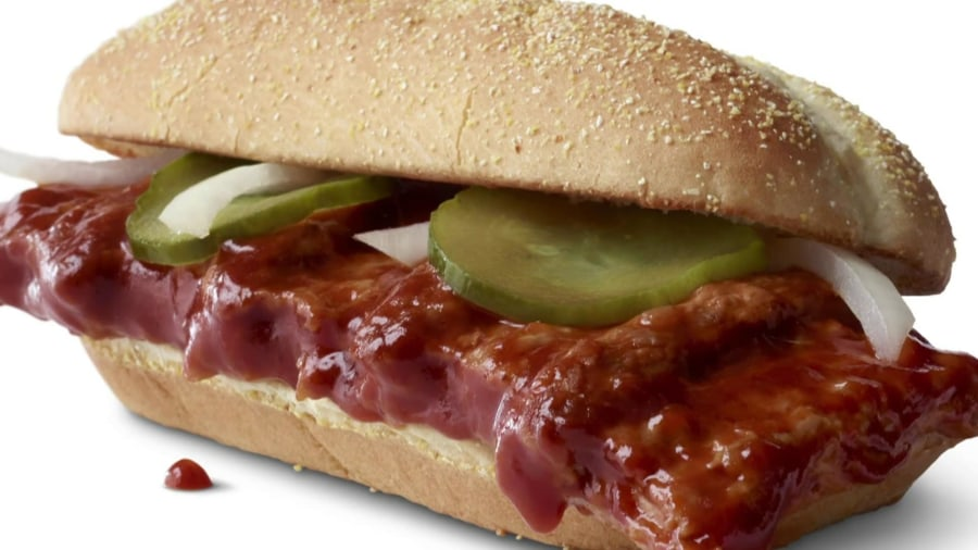 The McRib is back! Here's when you can order it again