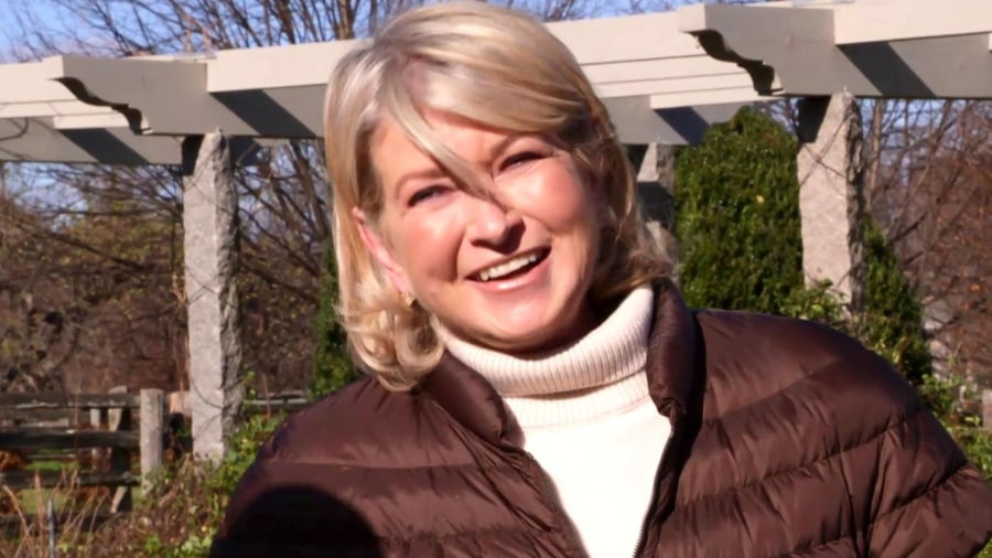Martha Stewart shares Thanksgiving memories with Harry Smith