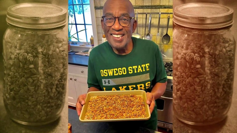 Al Roker learns how to make superfood smoothies, homemade granola