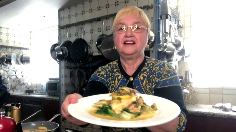 Make Lidia Bastianich's chicken scaloppini