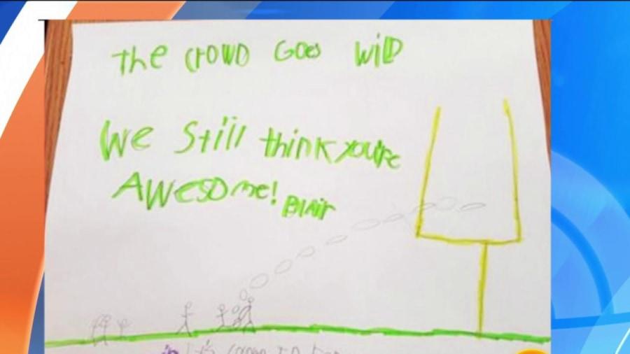 Cheap NFL Jerseys Outlet - Vikings kicker Blair Walsh visits first-graders who wrote kind ...