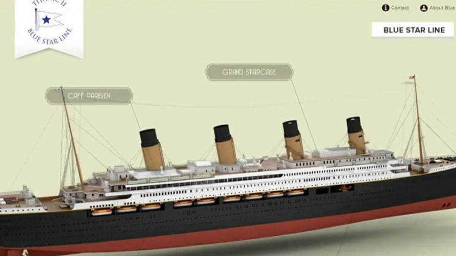 Titanic II Replica Of Doomed Ship To Set Sail  TODAY