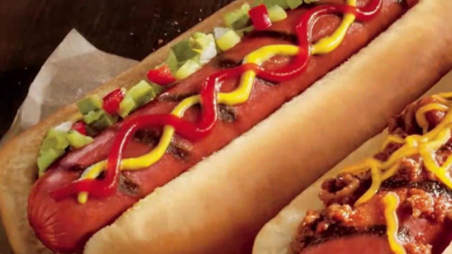 Franks Hot Dogs Menu