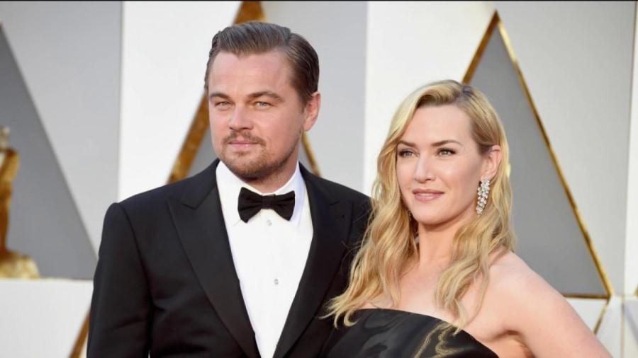 Leonardo DiCaprio and Kate Winslet reunite at the Oscars ... Leonardo Dicaprio And Kate Winslet