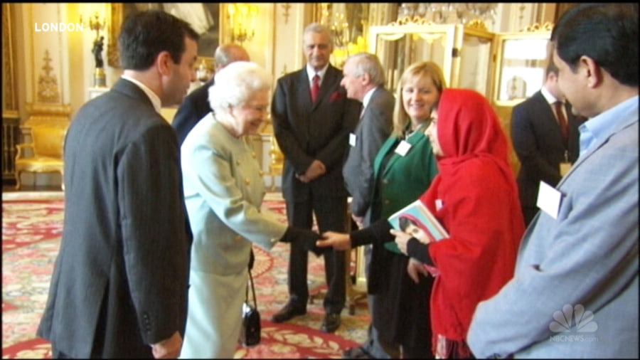 Malala: I had to miss school to meet the queen - TODAY.com