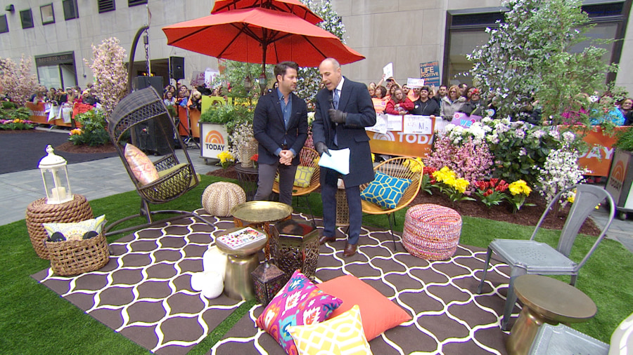 nate berkus show how to create your own backyard oasis