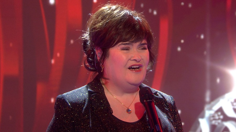 Susan Boyle sings a Christmas classic - TODAY.com
