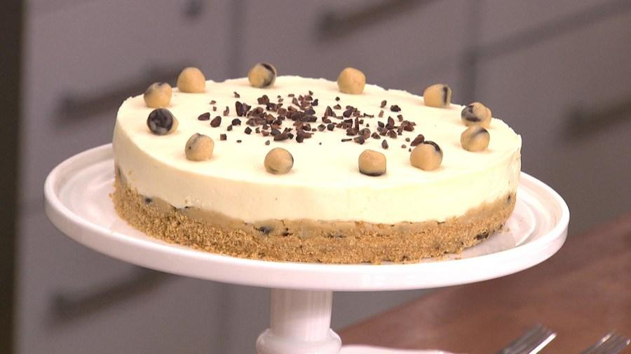 A Cookie Dough Cheesecake Sacha Baron Cohen Delicious Hilarity