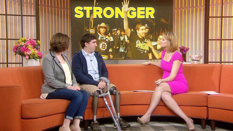 Boston bombing victim Jeff Bauman: 'It gets better every day' - TODAY ...