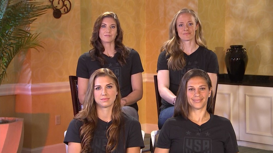 U.S. women's soccer stars on filing equal pay complaint: 'We've proven our worth'