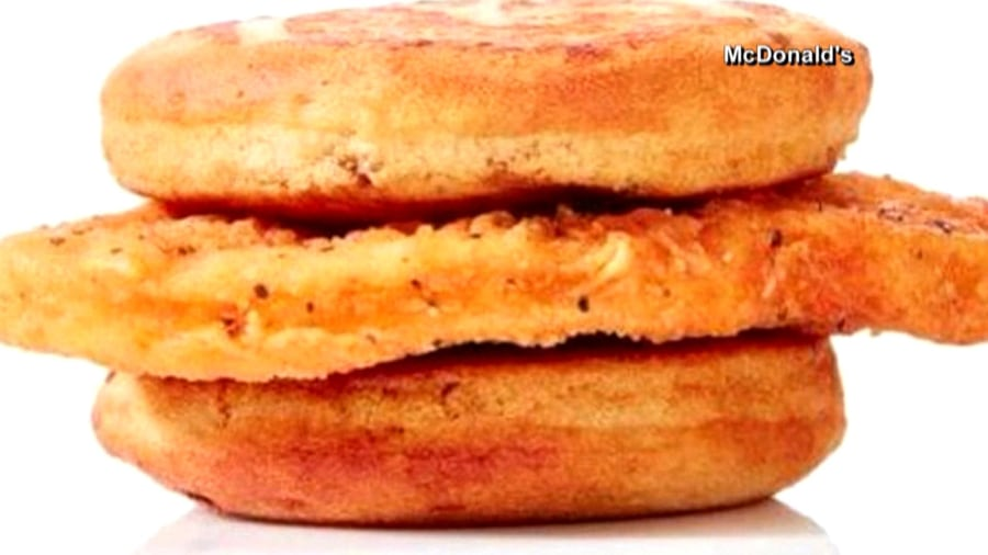 McDonald's Chicken McGriddle, the syrup-infused chicken sandwich you never knew you needed