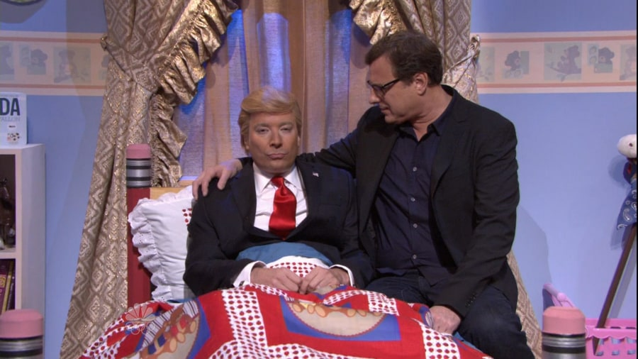 ... reunites to cheer up Donald Trump on 'The Tonight Show' - TODAY.com