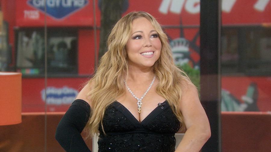 Mariah Carey returns with new album, lights up TODAY plaza ...