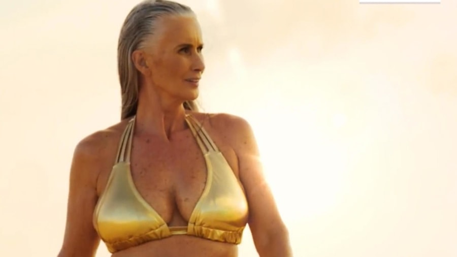 sports illustrated features 56 year old model in annual swimsuit issue todaycom