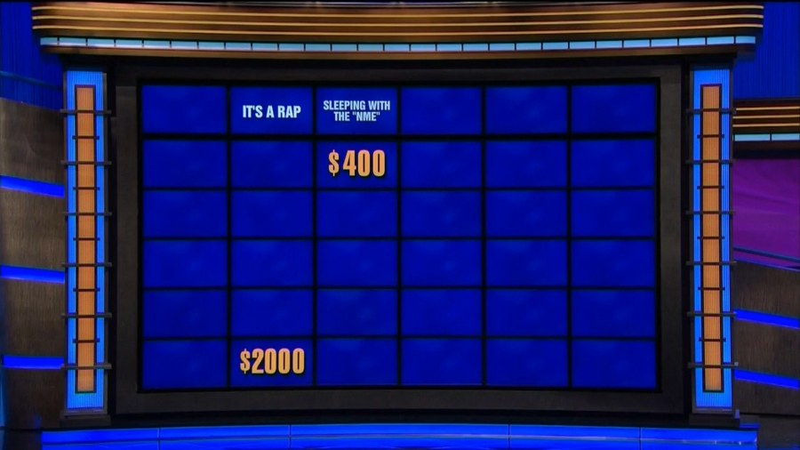 alex trebek rapped on jeopardy and it was amazing today com