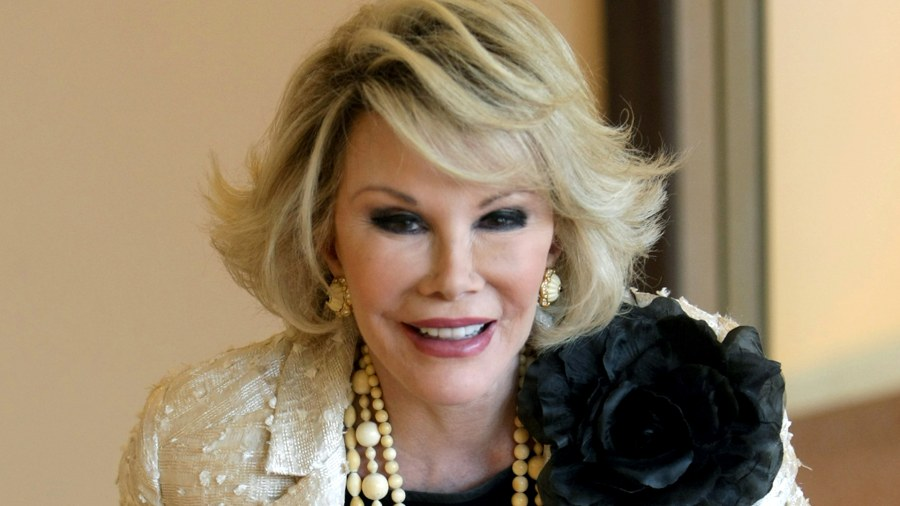 Joan Rivers Daughter Mom Is Resting Comfortably
