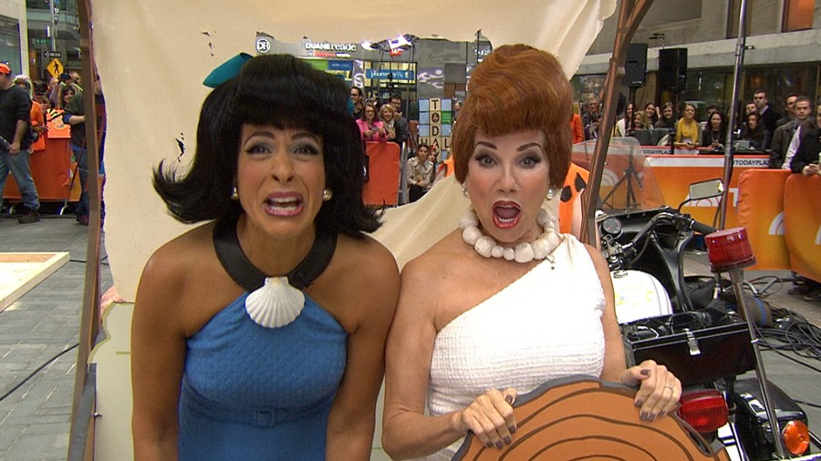 from wilma to waynes world klg and hodas most hilarious halloweens - World Best Halloween Costumes