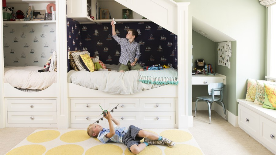 shared kids room ideas from pinterest todaycom - Medium Hardwood Kids Room Interior