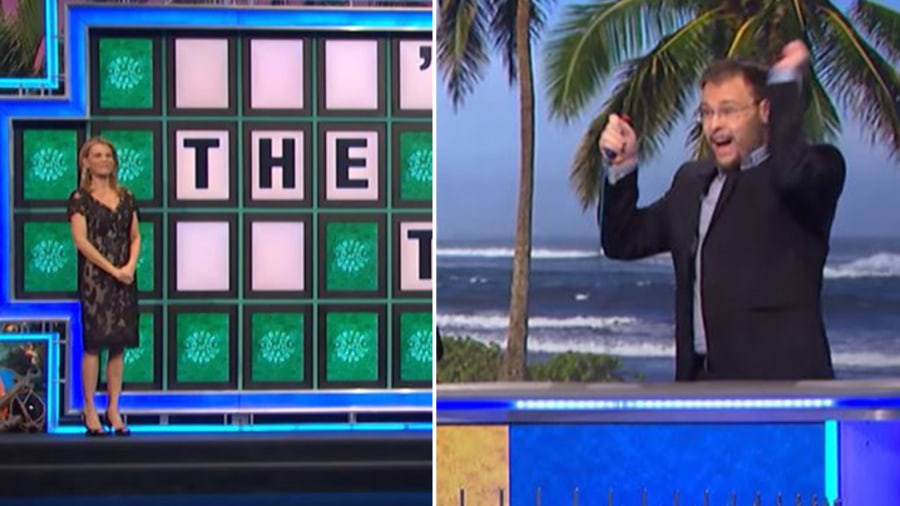 Wheel Of Fortune Contestant Wins K By Solving Puzzles In - Emil de leon solve impossible puzzle