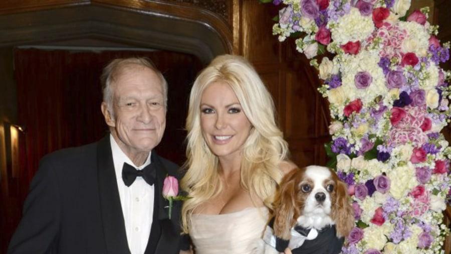 Crystal Harris Auctioning Off Wedding Dress From Hugh Hefner Nuptials