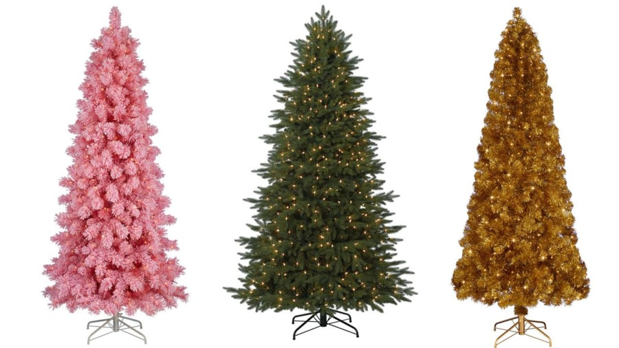 Christmas decorations: Artificial Christmas trees that are on sale ...