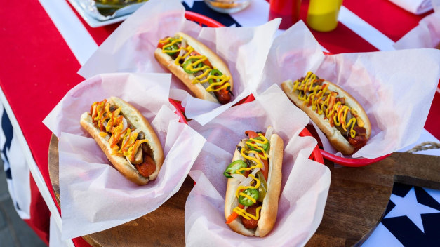 Siri's Beer-Soaked Hot Dogs