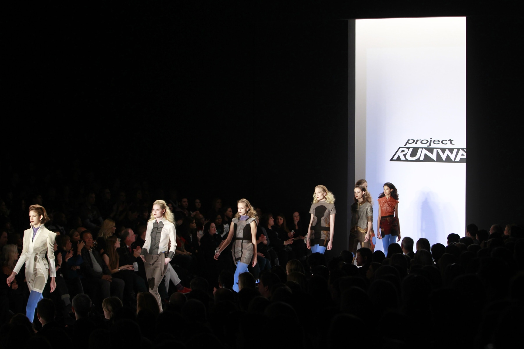 "Image: Models on ""Runway"""
