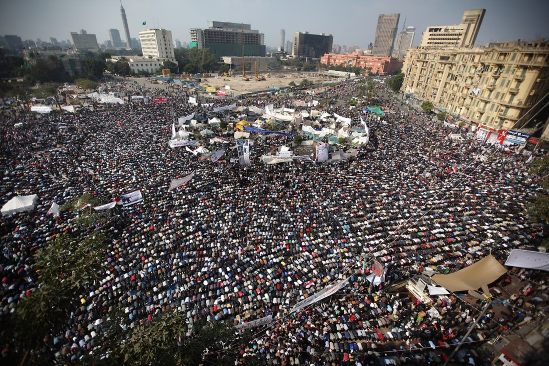 Image: BESTPIX  Cairo Tense As Preparations Continue For Elections