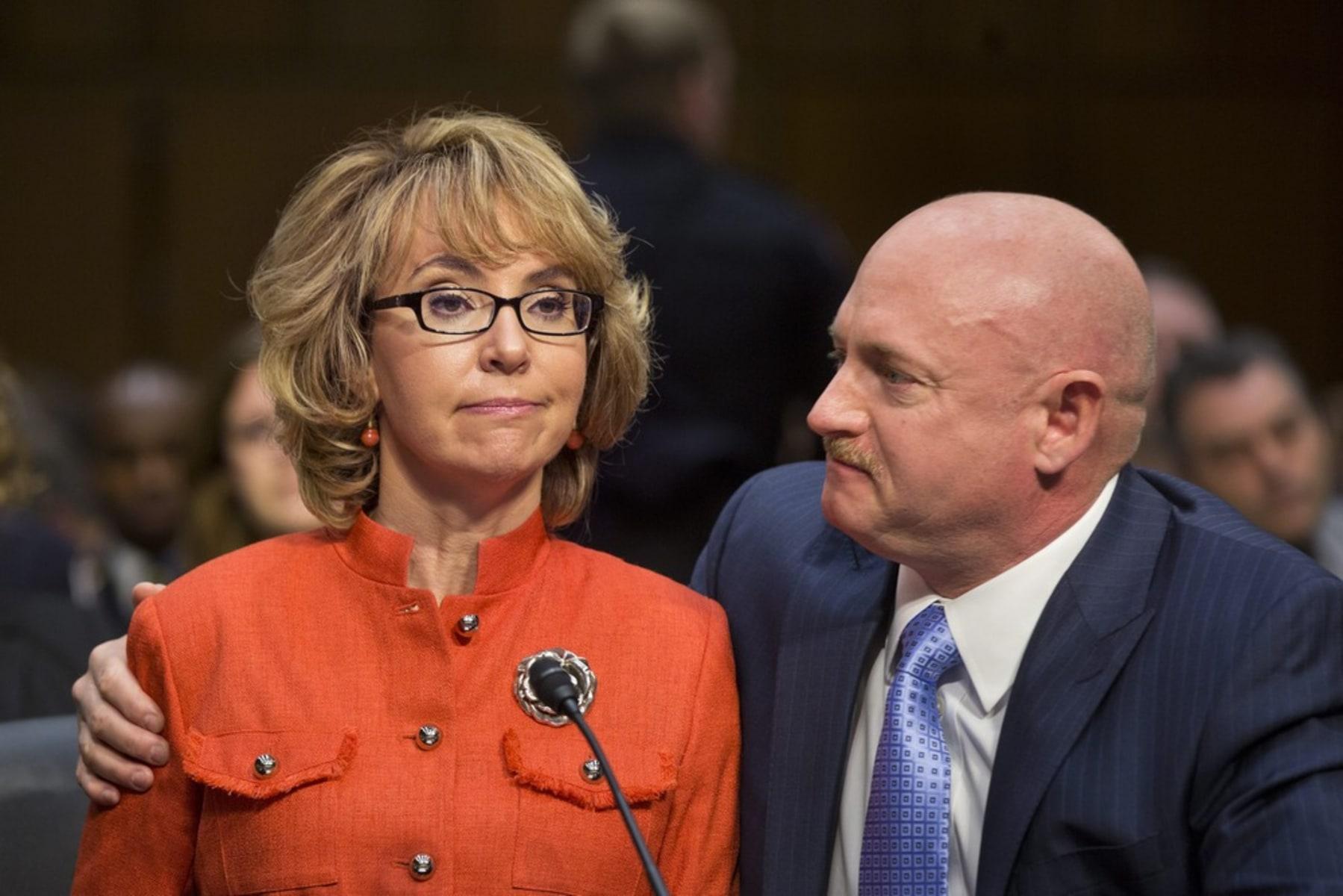 Image: US Senate holds hearing on Gun Control