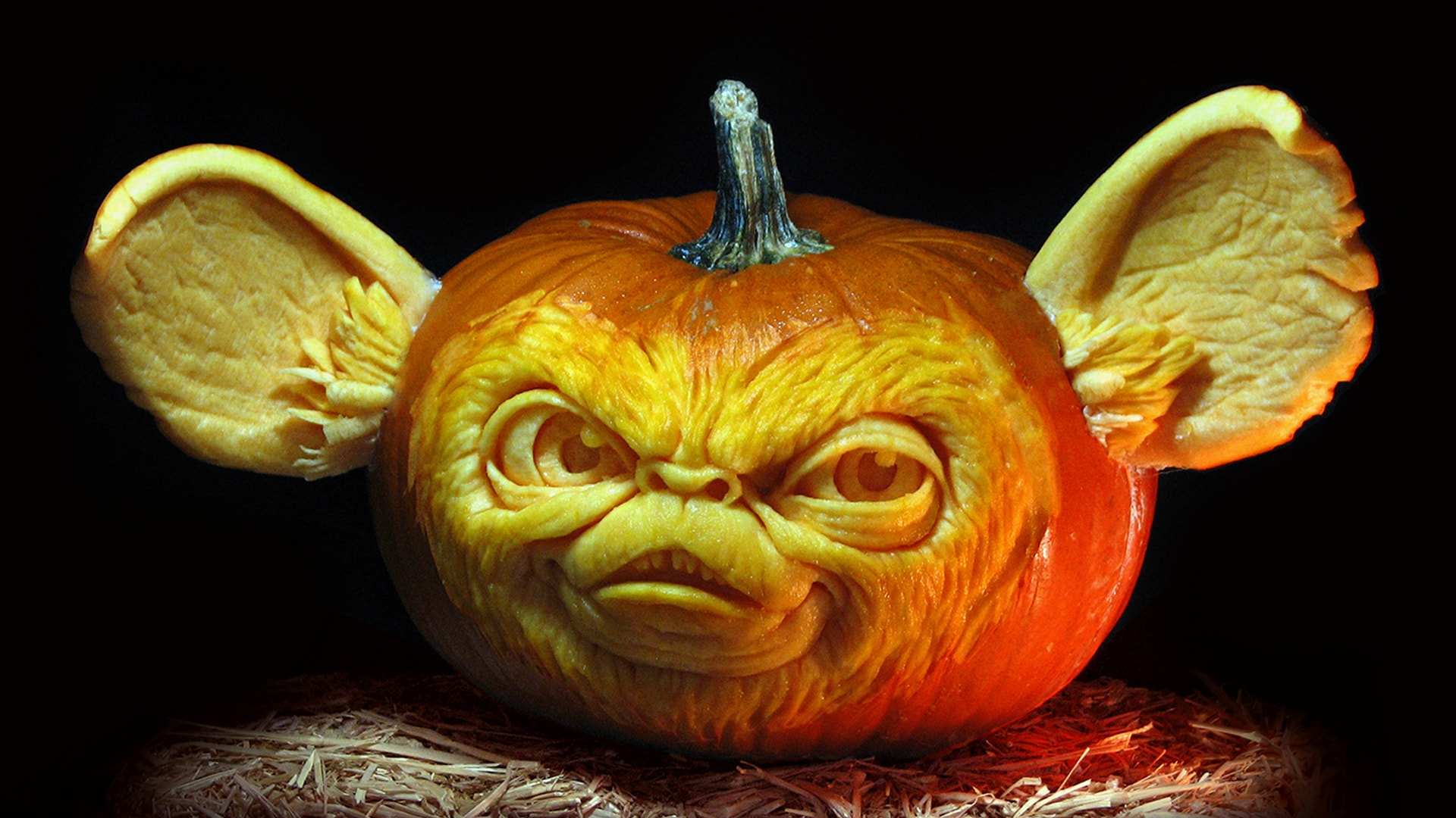 Superior Ghoulishly Grand Carved Pumpkins