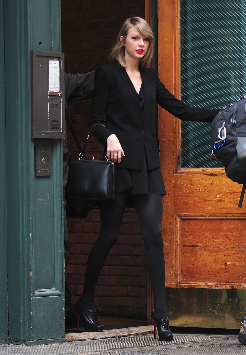 Image: Celebrity Sightings In New York City - April 17, 2014