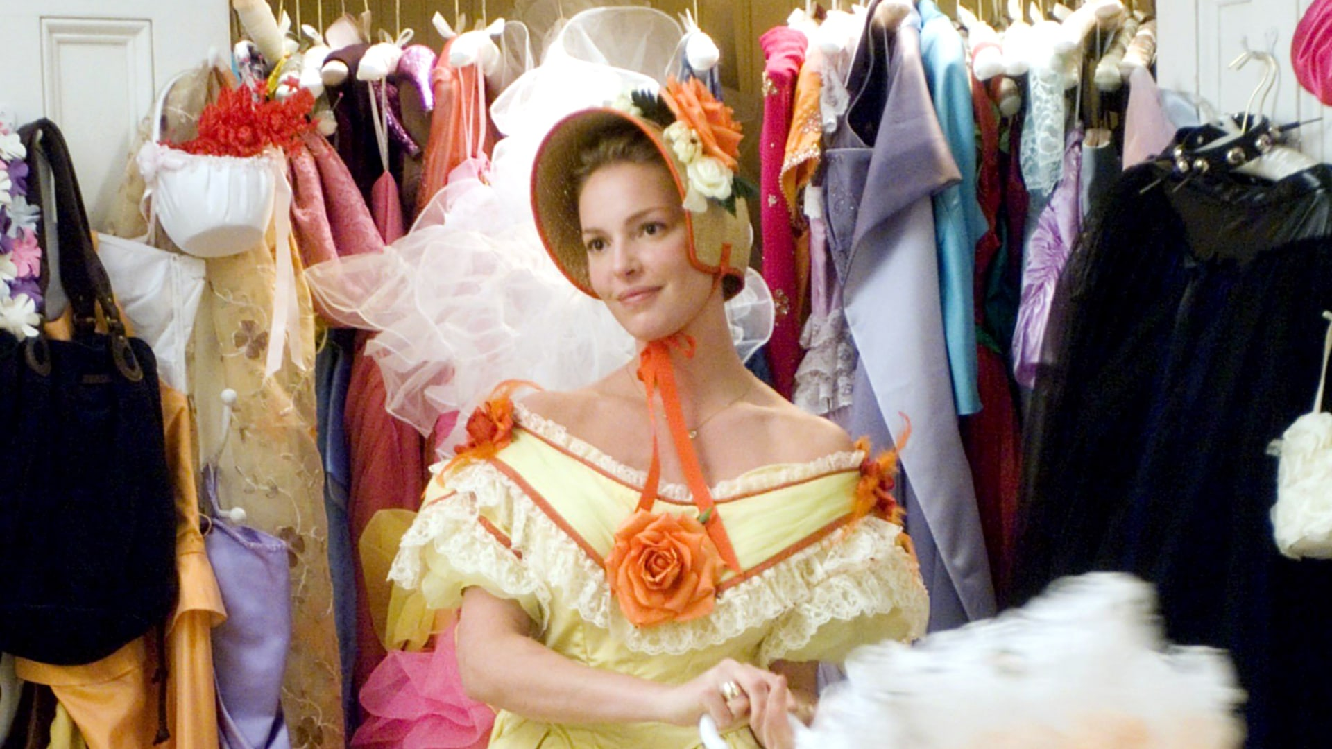 Image: 27 DRESSES, Katherine Heigl, 2008. TM &©20th Century Fox. All rights reserved/courtesy Everett Colle