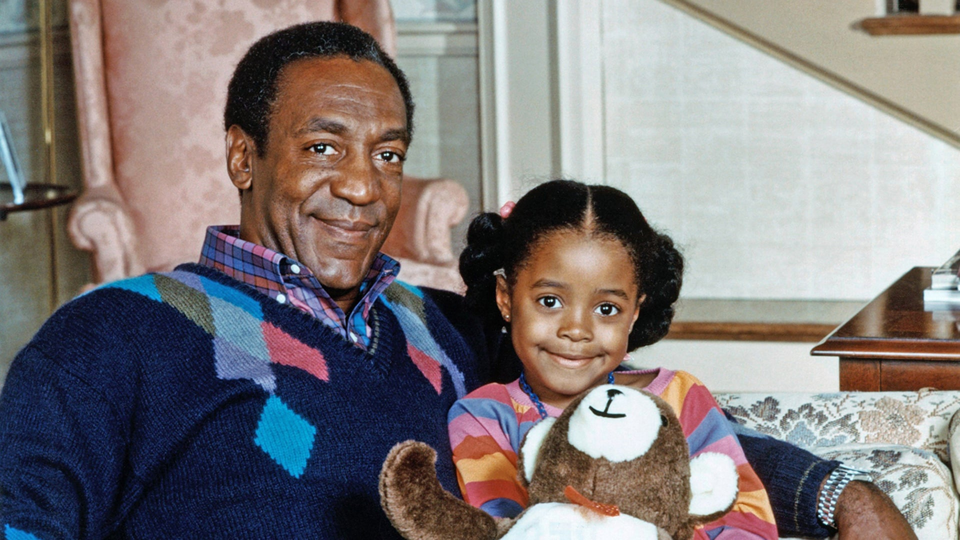 Image: THE COSBY SHOW, Bill Cosby, Keshia Knight Pulliam, (Season 3), 1984-1992. © Carsey-Werner Co. / Cour