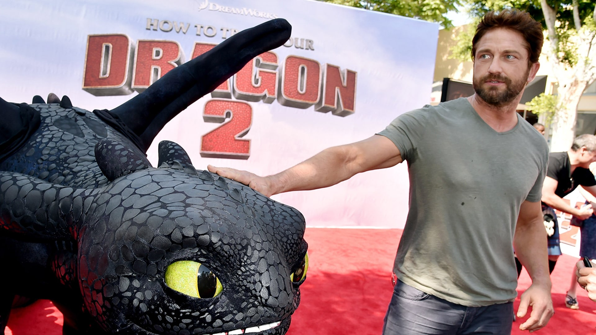 "Image: Premiere Of Twentieth Century Fox And DreamWorks Animation ""How To Train Your Dragon 2"" - Red Carpet"
