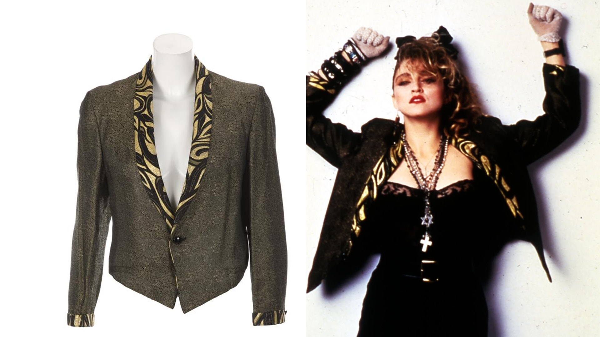Madonna Clothes Memorabilia Go Up For Auction