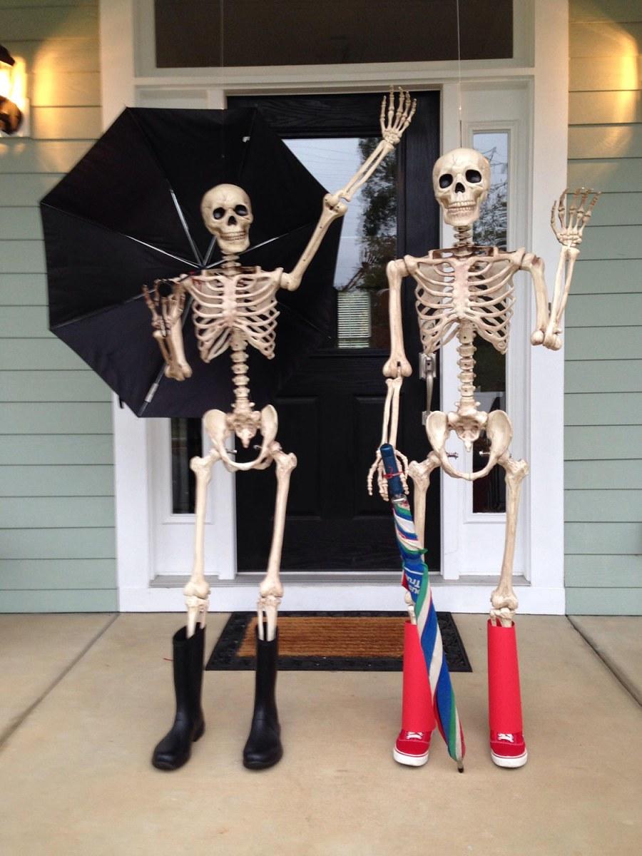 Baxter Skeletons Rule Halloween South Carolina S