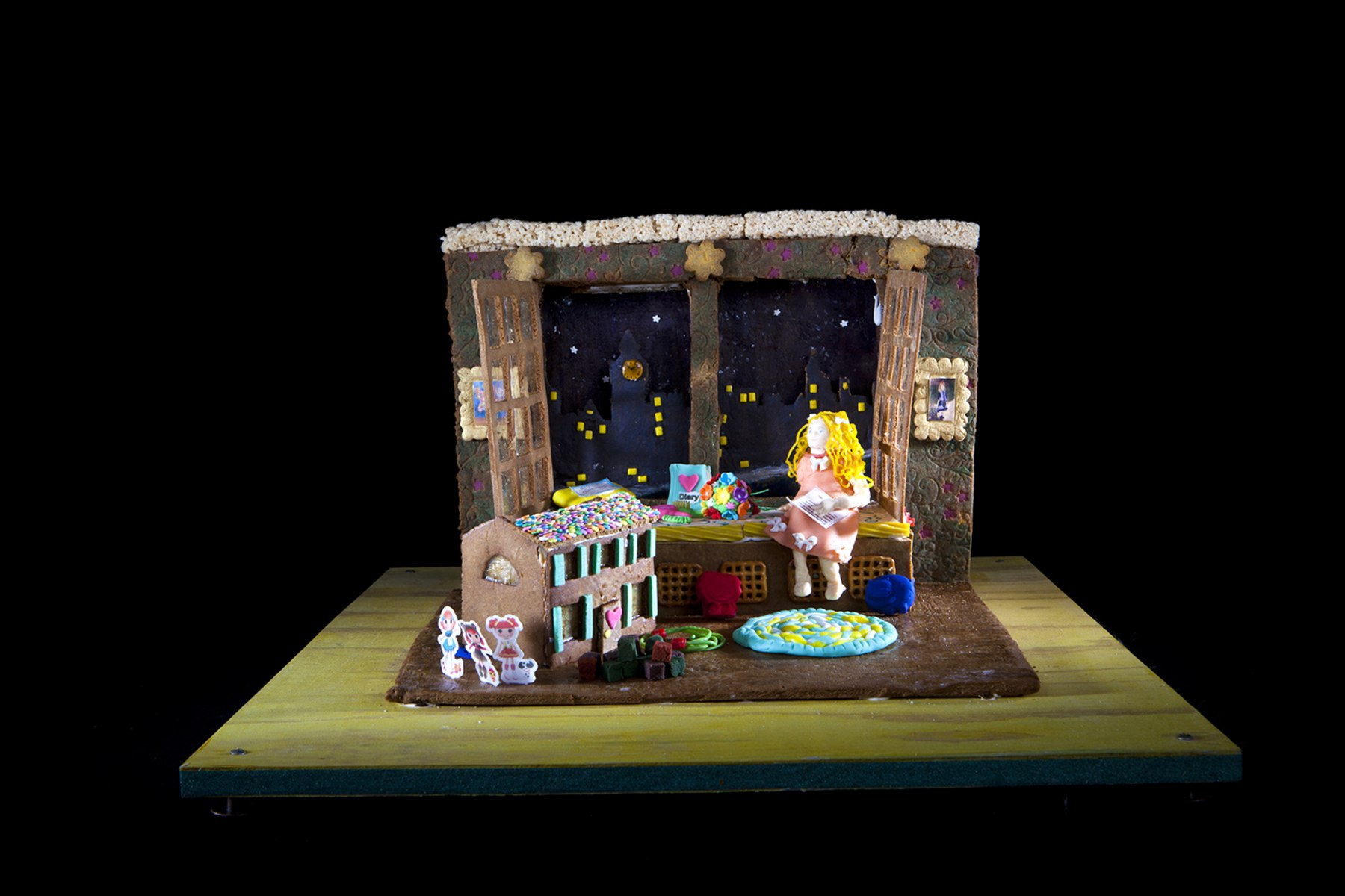 National gingerbread house competition boasts lavish for Grove park house