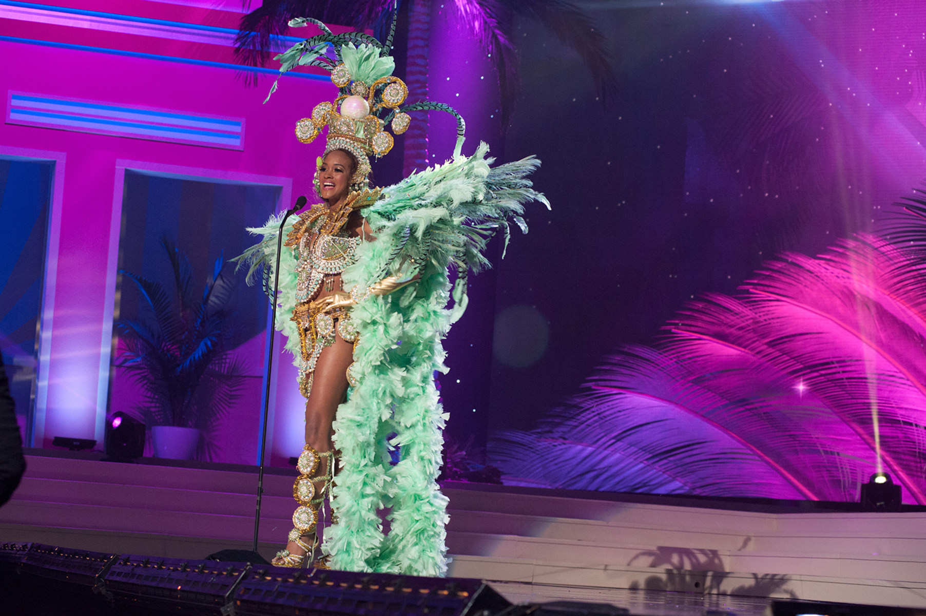 miss universe pageant 2015 costumes for preliminary show