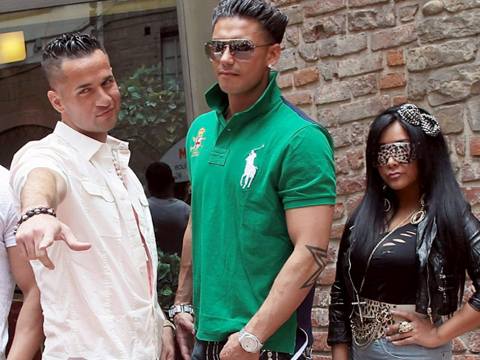 Image: Jersey Shore Photocall In Florence