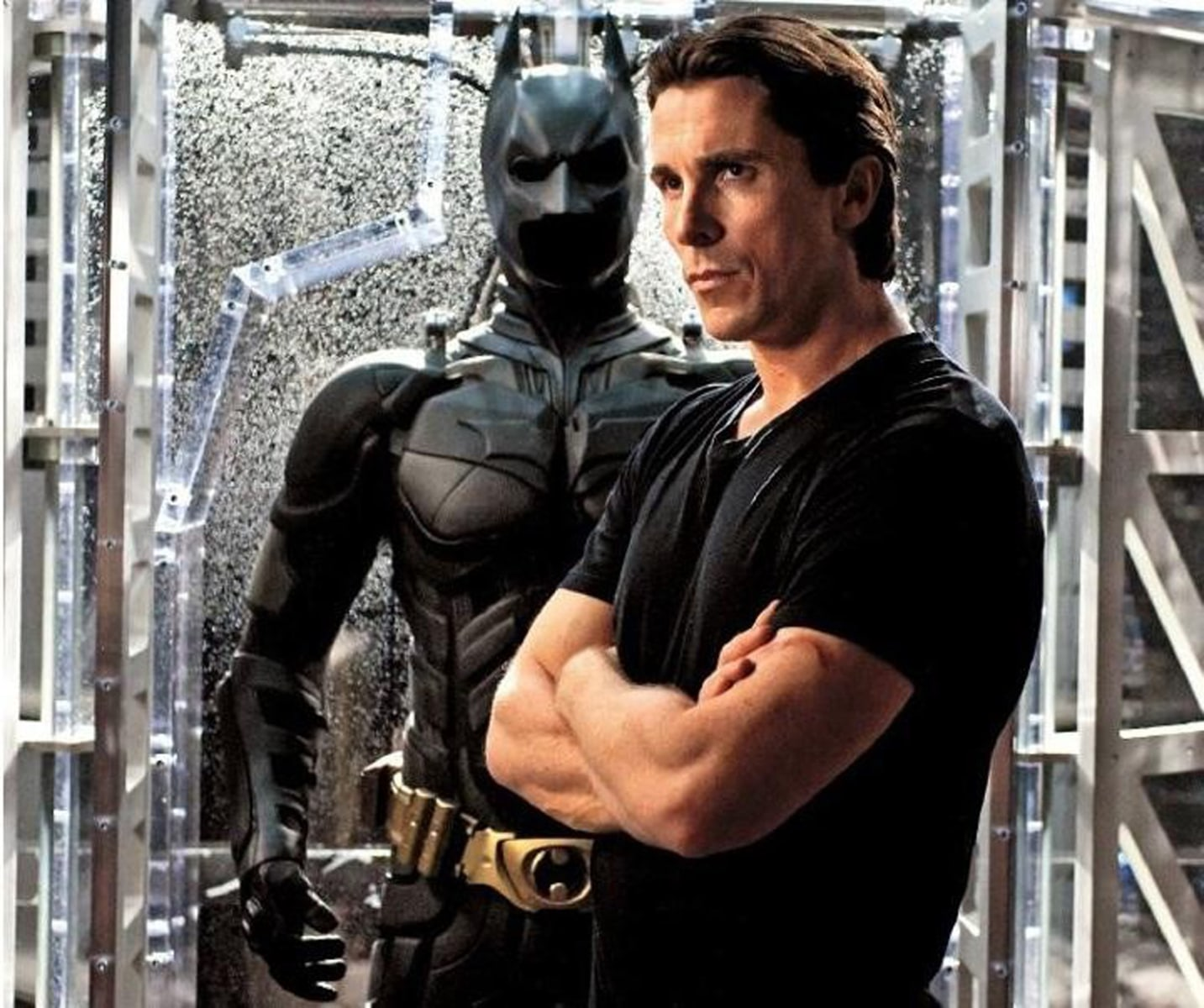 "Image: Christian Bale in ""Dark Knight Rises"""
