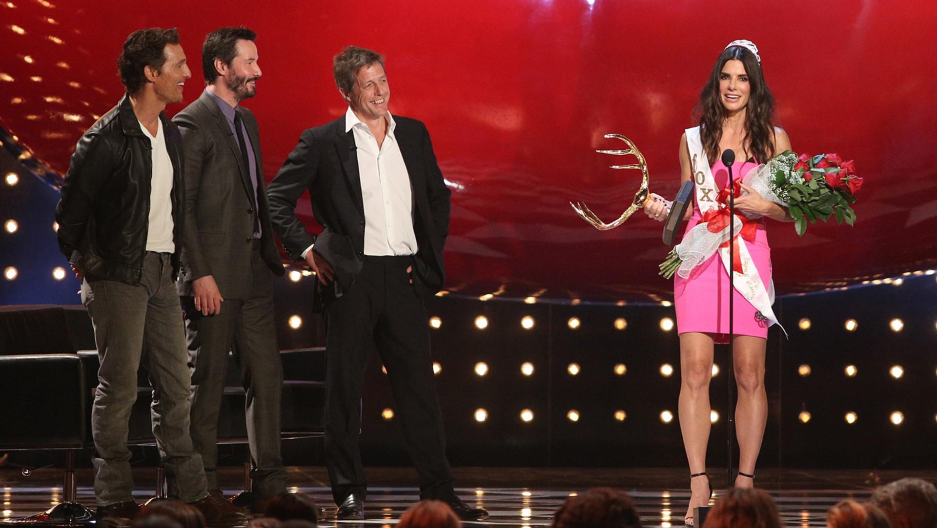 Image: Matthew McConaughey, Keanu Reeves, Hugh Grant, Sandra Bullock