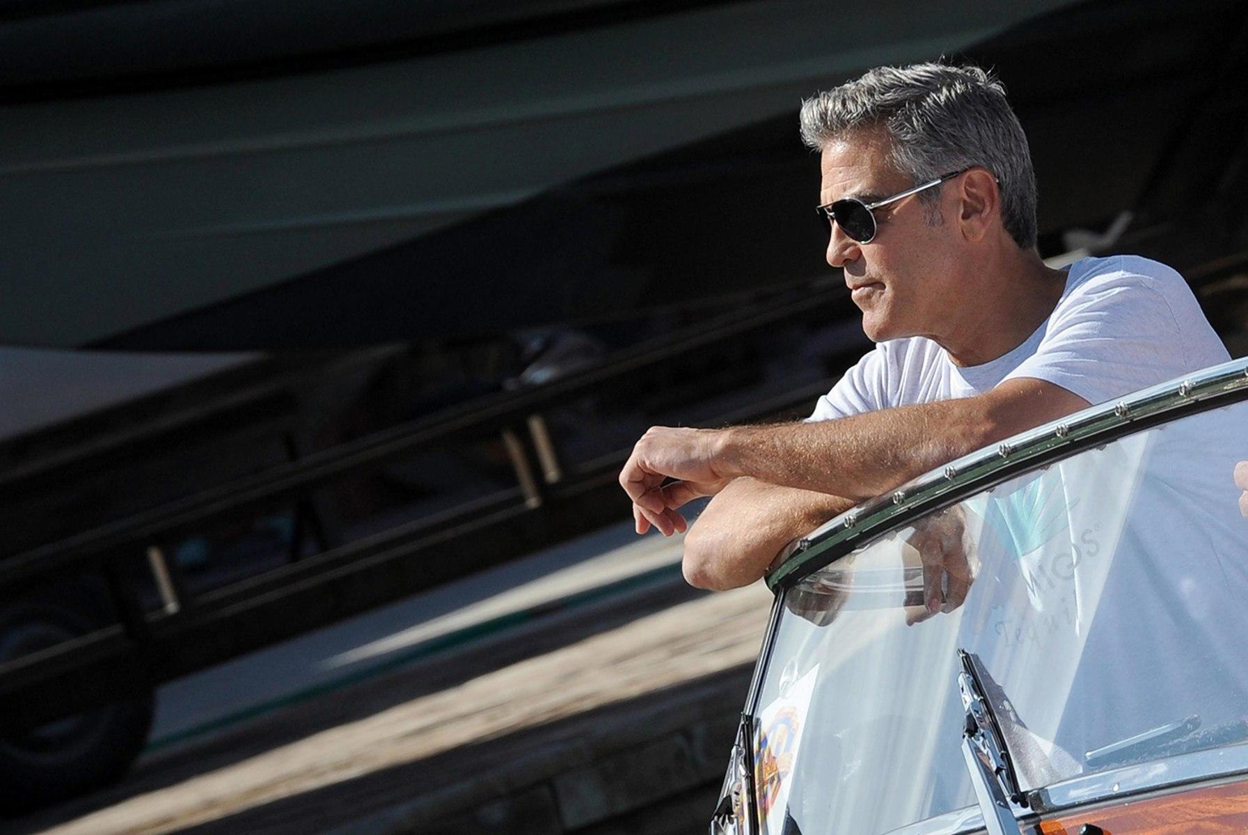 George Clooney Marries Amal Alamuddin In Venice Wedding