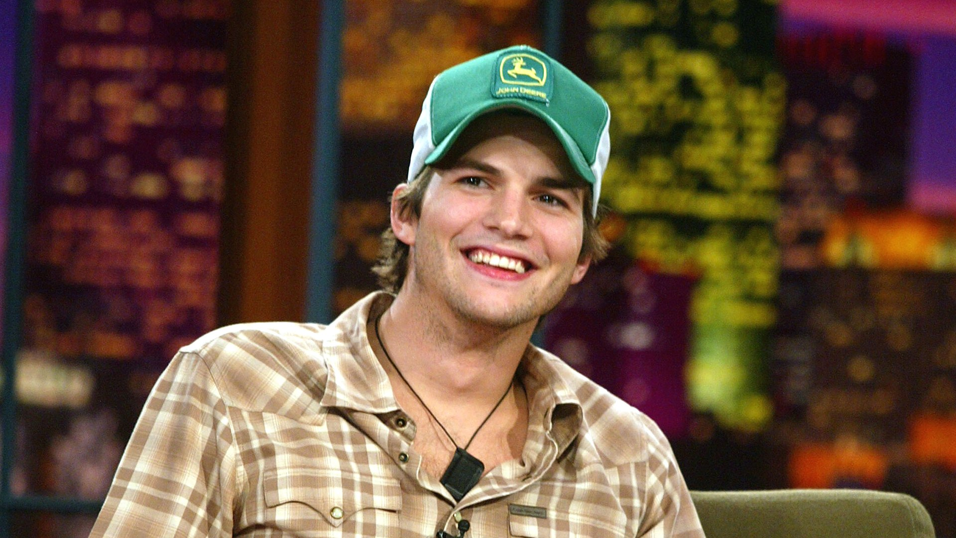 Image: Ashton Kutcher Appears on The Tonight Show with Jay Leno