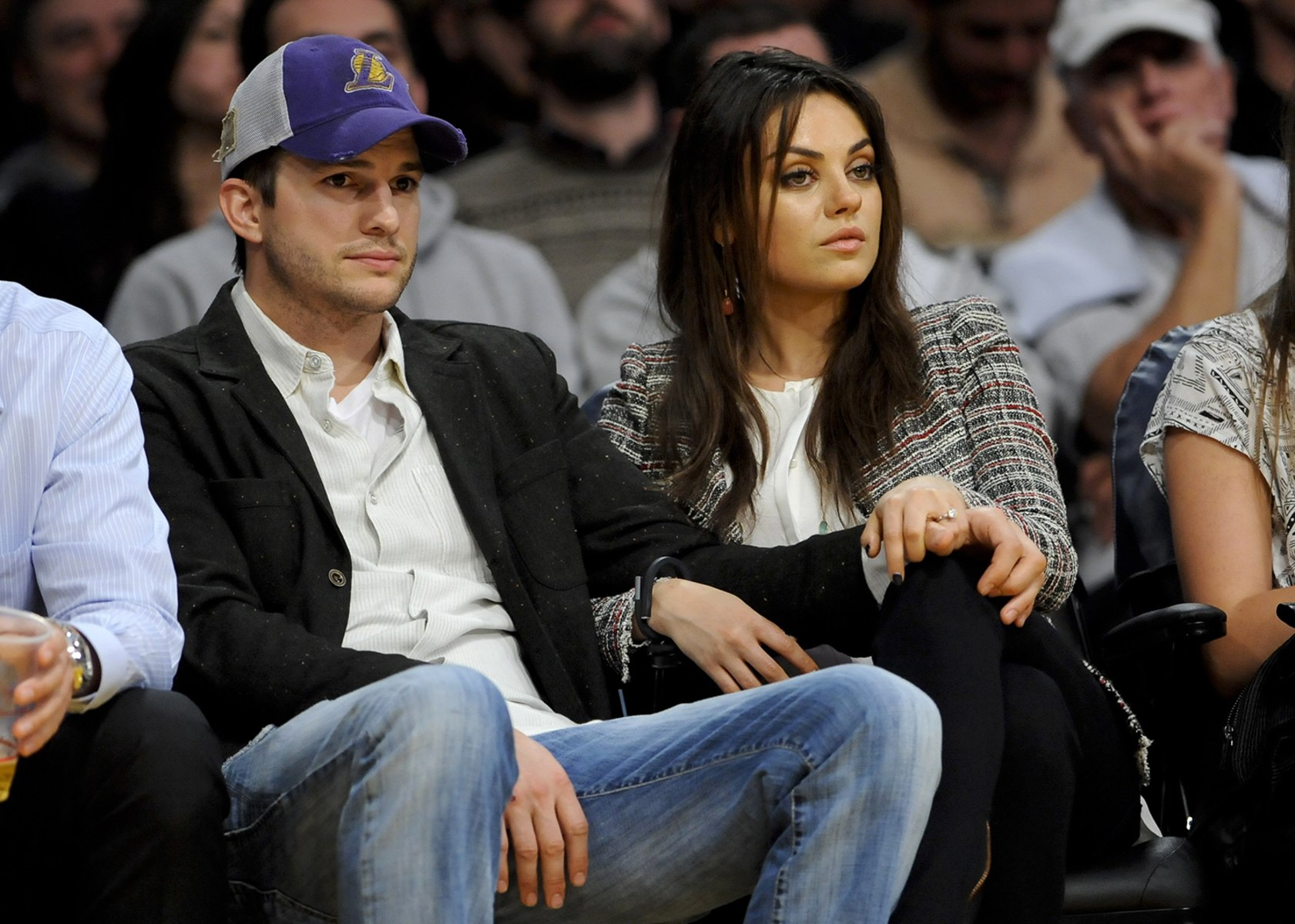 Image: Ashton Kutcher and Mila Kunis