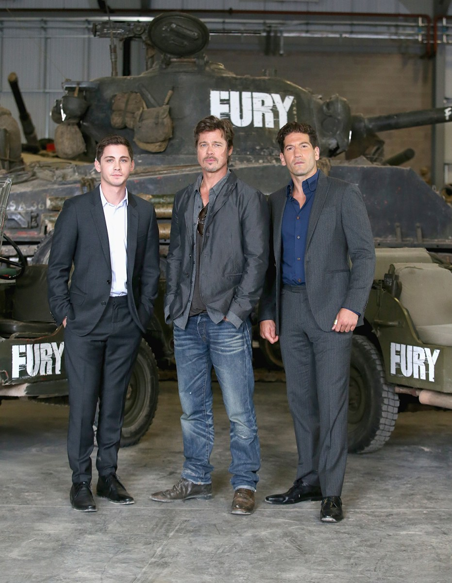"Image: ""Fury"" Photo Call At The Tank Museum In Bovington, England"